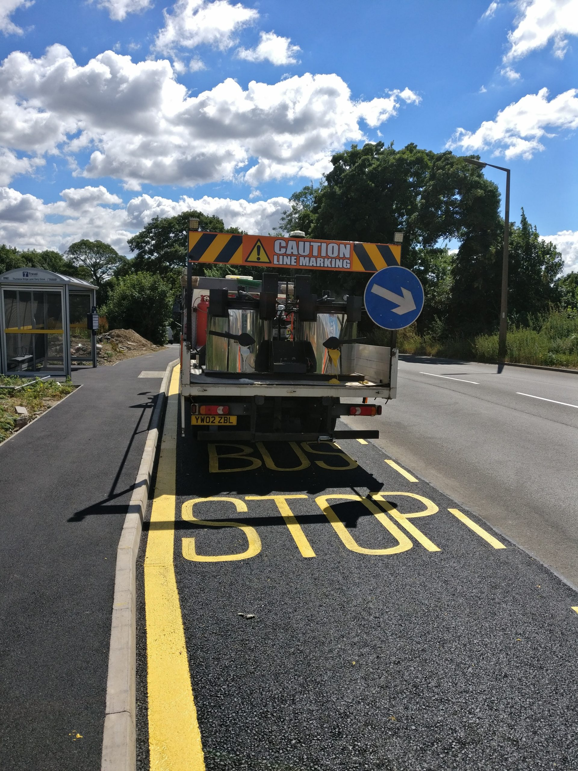 Road Marking Yorkshire